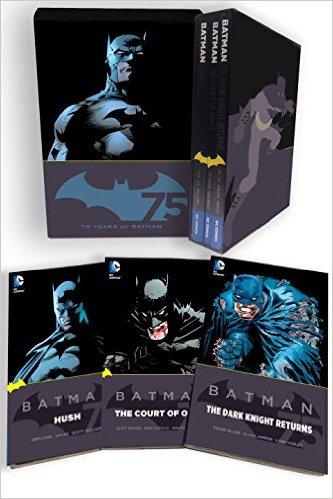 Batman 75th anniversary box set The court of owls