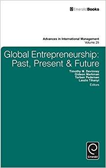 Global entrepreneurship : past, present & future